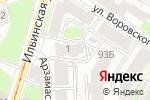Схема проезда до компании Возрождение в Нижнем Новгороде