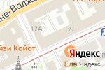 Схема проезда до компании Визовая компания в Нижнем Новгороде