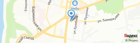 Нижегородская кофейня на карте Нижнего Новгорода