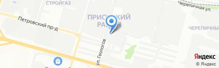 СПЕЦГАЗСЕРВИС-НН на карте Нижнего Новгорода