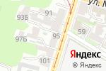 Схема проезда до компании Paradise store в Нижнем Новгороде