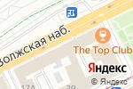 Схема проезда до компании The Top Club в Нижнем Новгороде