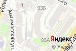 Схема проезда до компании Аудит-Консалт в Нижнем Новгороде
