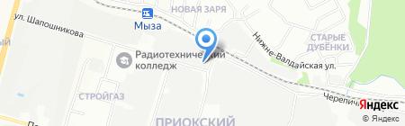 Строительная комплектация на карте Нижнего Новгорода