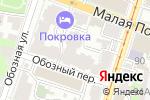 Схема проезда до компании ИваСтом в Нижнем Новгороде