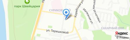 Цезарь на карте Нижнего Новгорода