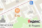 Схема проезда до компании Пафос в Нижнем Новгороде
