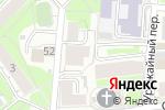 Схема проезда до компании Элком в Нижнем Новгороде