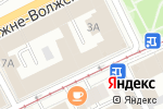 Схема проезда до компании КредитФинансГрупп в Нижнем Новгороде