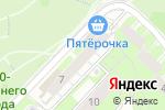 Схема проезда до компании САЮС-САХАР в Нижнем Новгороде