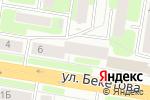 Схема проезда до компании Кабинет здоровья в Нижнем Новгороде