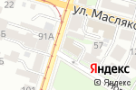 Схема проезда до компании СтройИнвестРегион в Нижнем Новгороде