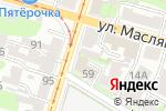Схема проезда до компании Весна в Нижнем Новгороде