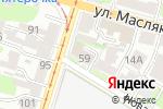 Схема проезда до компании Арбат в Нижнем Новгороде