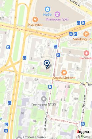 МАРКЕТИНГОВЫЙ ЦЕНТР ПРАКТИК на карте Нижнего Новгорода