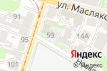 Схема проезда до компании Хирш в Нижнем Новгороде