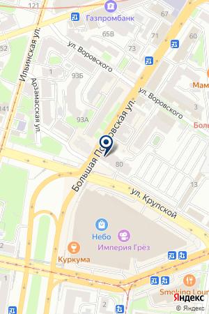 АЛЛИГАТОР на карте Нижнего Новгорода