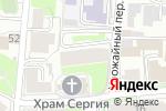 Схема проезда до компании НижегородШинСнаб в Нижнем Новгороде