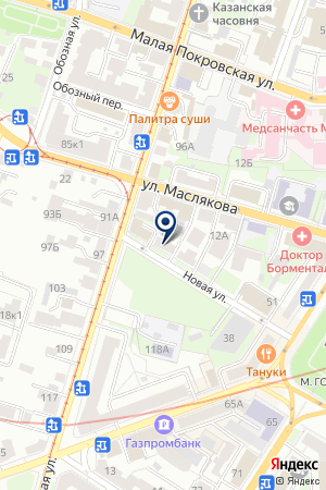 FRESH ART на карте Нижнего Новгорода