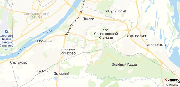 Козловка на карте