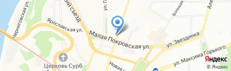 Ваганты на карте Нижнего Новгорода