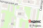 Схема проезда до компании АСТ в Нижнем Новгороде