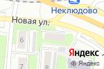 Схема проезда до компании Белая акула в Золотово