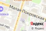 Схема проезда до компании Адвокат Новожилова С.В в Нижнем Новгороде