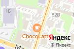 Схема проезда до компании Авторская студия Анастасии Кравцовой в Нижнем Новгороде