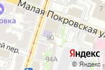 Схема проезда до компании Ателье кровли и фасада в Нижнем Новгороде