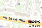 Схема проезда до компании Магазин продуктов на ул. Бекетова в Нижнем Новгороде
