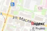 Схема проезда до компании GANG в Нижнем Новгороде