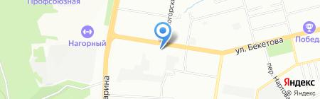 Адамас на карте Нижнего Новгорода