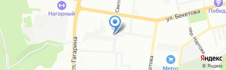 Снабсервис-НН на карте Нижнего Новгорода