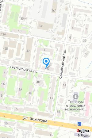 Дом 6 по ул. Светлогорская на Яндекс.Картах