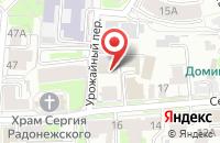 Схема проезда до компании Европечать в Нижнем Новгороде