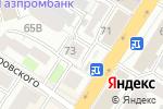 Схема проезда до компании Эдельвейс-сервис в Нижнем Новгороде