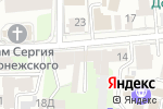 Схема проезда до компании Глори в Нижнем Новгороде