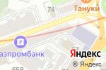 Схема проезда до компании Семейный капитал в Нижнем Новгороде