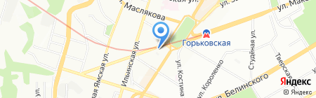 Путешествуй.Ру на карте Нижнего Новгорода