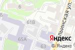 Схема проезда до компании Вектор в Нижнем Новгороде