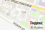 Схема проезда до компании Yelisey в Нижнем Новгороде