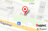 Схема проезда до компании Интел-Трейд в Нижнем Новгороде