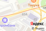 Схема проезда до компании ЧИП и ДИП в Нижнем Новгороде