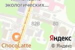 Схема проезда до компании LegalCom в Нижнем Новгороде