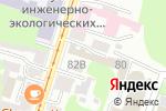 Схема проезда до компании Талион в Нижнем Новгороде