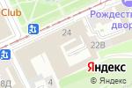Схема проезда до компании УТЮГ в Нижнем Новгороде