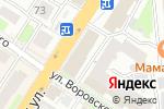 Схема проезда до компании ТОНУС ПРЕМИУМ в Нижнем Новгороде