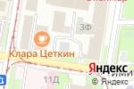 Схема проезда до компании НТС в Нижнем Новгороде