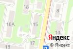 Схема проезда до компании Магазин одежды для всей семьи на Корейской в Нижнем Новгороде